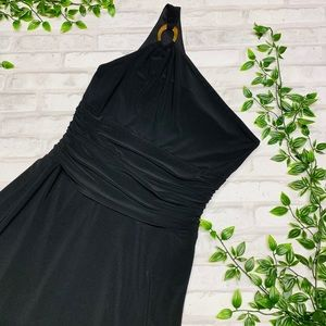 Laundry NWT One Shoulder Maxi Gown
